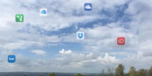 Cloud-Dienste sind mobil und ortsunabhängige Datenspeicher