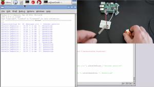 Temperatursensor am Raspberry Pi mit Python auslesen