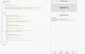 HTML Gerüst für mobile Anwendung