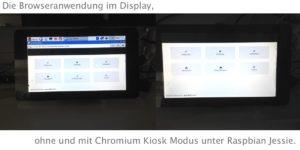 Chromium Kiosk Modus