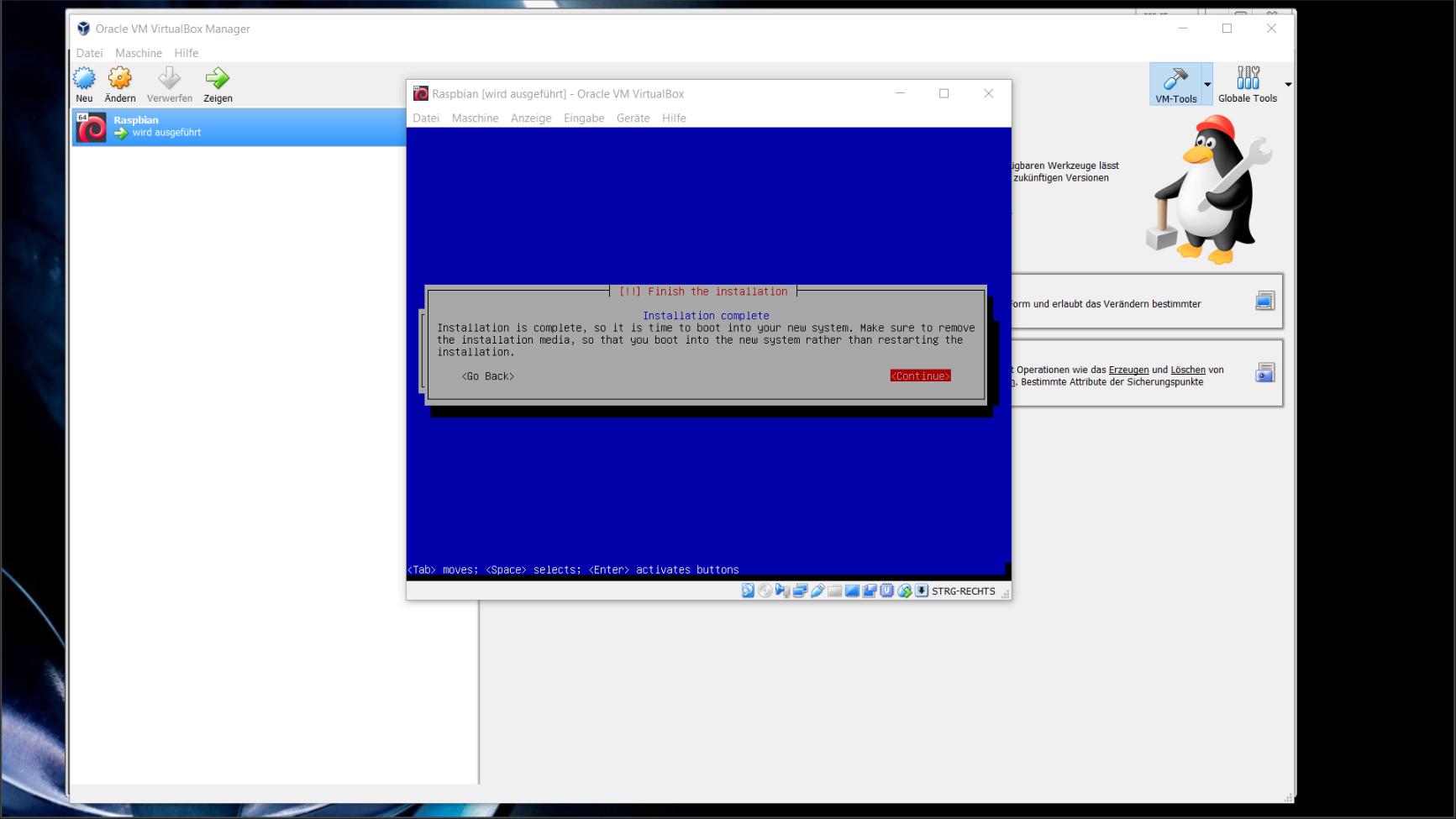 Wie man Raspberry Pi Desktop unter VirtualBox einrichtet
