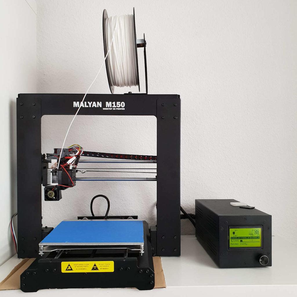 der Malyan M150 i3 3D Drucker